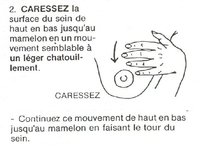 massage du sein